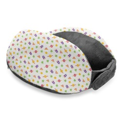 Girls Space Themed Travel Neck Pillow