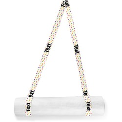 Girls Space Themed Yoga Mat Strap (Personalized)