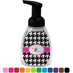 Houndstooth w/Pink Accent Foam Soap Dispenser (Personalized)