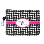 Houndstooth w/Pink Accent Golf Accessories Bag (Personalized)