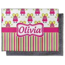 Pink Monsters & Stripes Microfiber Screen Cleaner (Personalized)