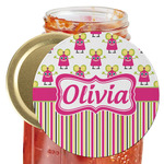 Pink Monsters & Stripes Jar Opener (Personalized)
