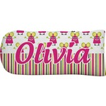 Pink Monsters & Stripes Putter Cover (Personalized)