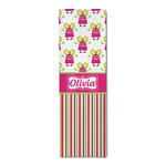 Pink Monsters & Stripes Runner Rug - 3.66'x8' (Personalized)