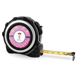 Pink Pirate Tape Measure - 16 Ft (Personalized)