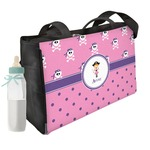 Pink Pirate Diaper Bag w/ Name or Text
