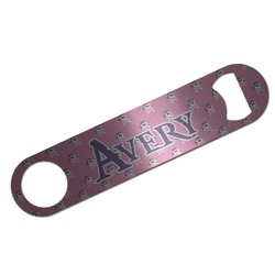 Pink Pirate Bar Bottle Opener (Personalized)