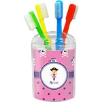Pink Pirate Toothbrush Holder (Personalized)