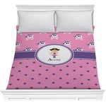 Pink Pirate Comforter (Personalized)