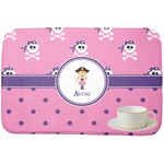 Pink Pirate Dish Drying Mat (Personalized)