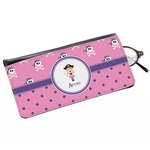 Pink Pirate Genuine Leather Eyeglass Case (Personalized)