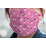 Pink Pirate Face Mask Cover (Personalized)