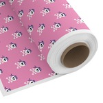 Pink Pirate Custom Fabric by the Yard (Personalized)
