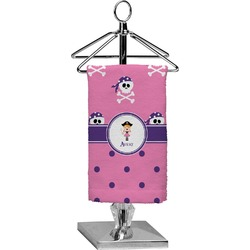 Pink Pirate Finger Tip Towel - Full Print (Personalized)