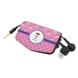 Pink Pirate Genuine Leather Cord Wrap (Personalized)