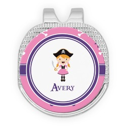 Pink Pirate Golf Ball Marker - Hat Clip
