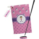 Pink Pirate Golf Towel Gift Set (Personalized)