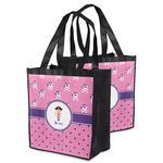 Pink Pirate Grocery Bag (Personalized)