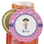 Pink Pirate Jar Opener (Personalized)