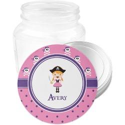Pink Pirate Jar Opener (Personalized)