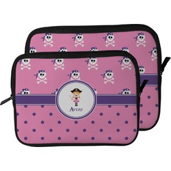 Pink Pirate Laptop Sleeve / Case (Personalized)