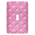 Pink Pirate Light Switch Covers (Personalized)
