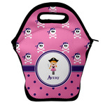 Pink Pirate Lunch Bag w/ Name or Text