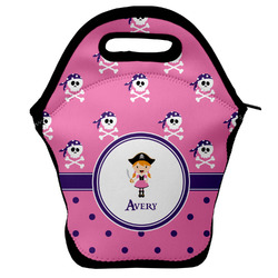 Pink Pirate Lunch Bag (Personalized)