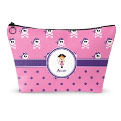 Pink Pirate Makeup Bags (Personalized)