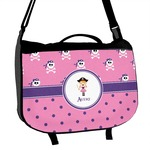 Pink Pirate Messenger Bag (Personalized)