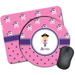 Pink Pirate Mouse Pads (Personalized)