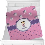 Pink Pirate Minky Blanket (Personalized)