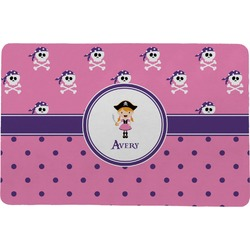Pink Pirate Comfort Mat (Personalized)