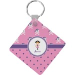 Pink Pirate Diamond Key Chain (Personalized)