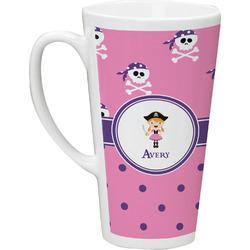 Pink Pirate Latte Mug (Personalized)