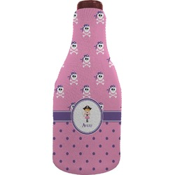 Pink Pirate Wine Sleeve (Personalized)