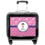 Pink Pirate Pilot / Flight Suitcase (Personalized)
