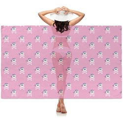 Pink Pirate Sheer Sarong (Personalized)