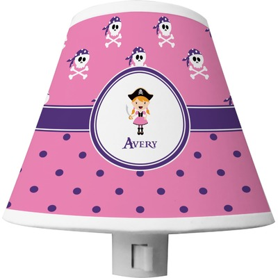 Pink Pirate Shade Night Light (Personalized)