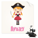 Pink Pirate Sublimation Transfer (Personalized)