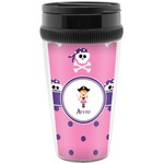 Pink Pirate Travel Mug (Personalized)
