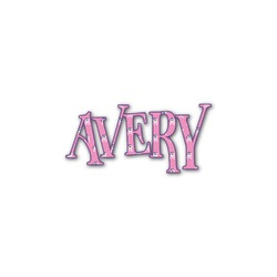 Pink Pirate Name/Text Decal - Custom Sized (Personalized)
