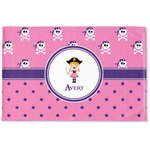 Pink Pirate Woven Mat (Personalized)