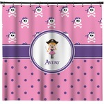 Pink Pirate Shower Curtain (Personalized)