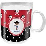 Pirate & Dots Acrylic Kids Mug (Personalized)