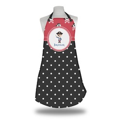 Pirate & Dots Apron (Personalized)