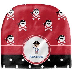 Pirate & Dots Baby Hat (Beanie) (Personalized)