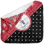 Pirate & Dots Baby Hooded Towel (Personalized)