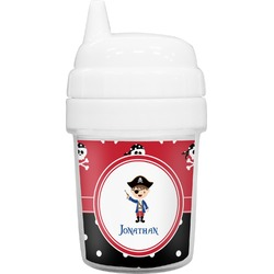 Pirate & Dots Baby Sippy Cup (Personalized)