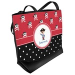 Pirate & Dots Beach Tote Bag (Personalized)